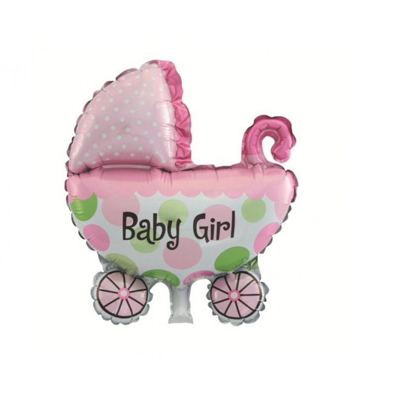 PALLONCINO FOIL CULLA ROSA BABY GIRL 982885-01