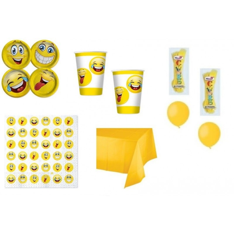 kit emoticons smile faccine