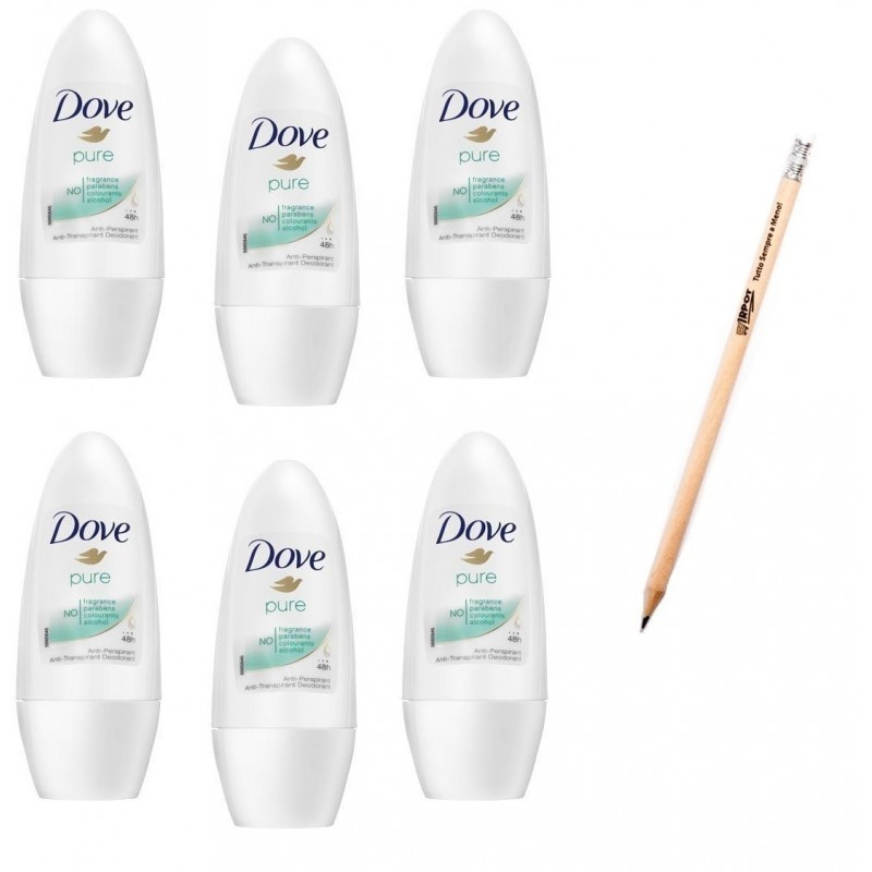 DOVE PURE ROLL ON 50 ML