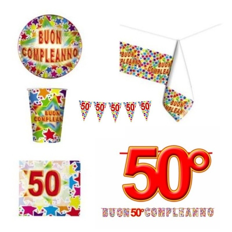 STARDUST COMPLEANNO 50 ANNI KIT N 17