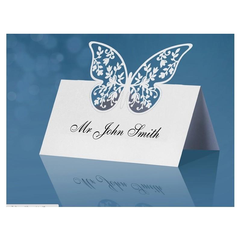 Segnaposto Matrimonio Con Farfalle.Segnaposto Matrimonio Farfalla