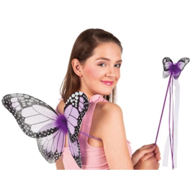 ali farfalla + bacchetta magica