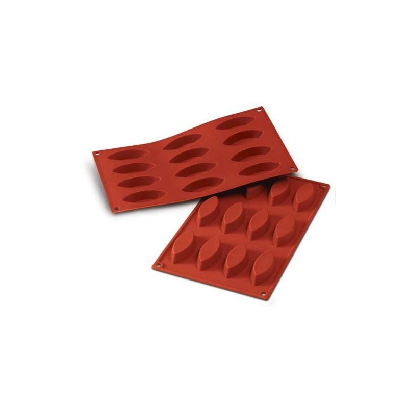 stampo silicone barchette 12 pz.