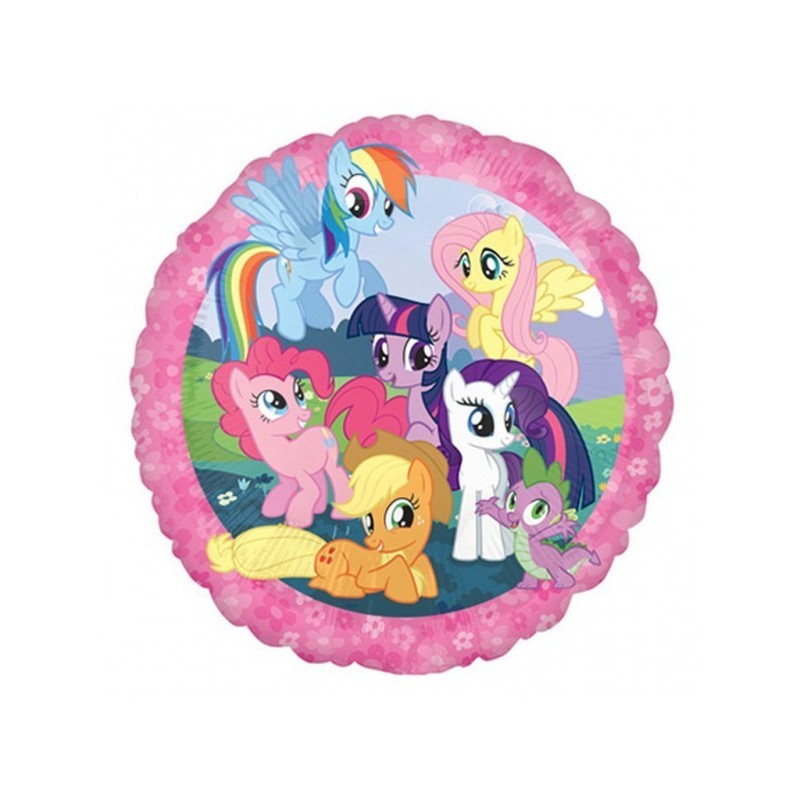 26421 PALLONCINO FOIL MY LITTLE PONY