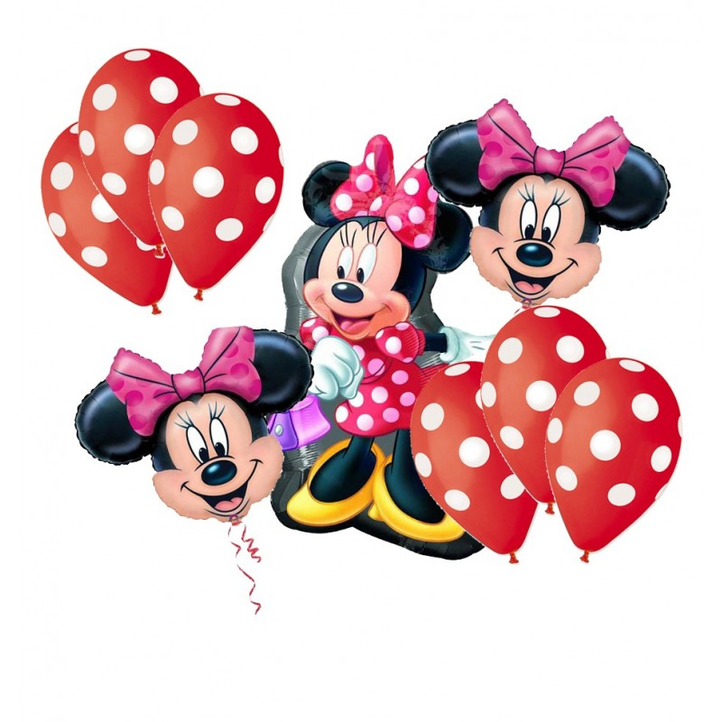 BOUQUET PALLONCINI MINNIE N 5