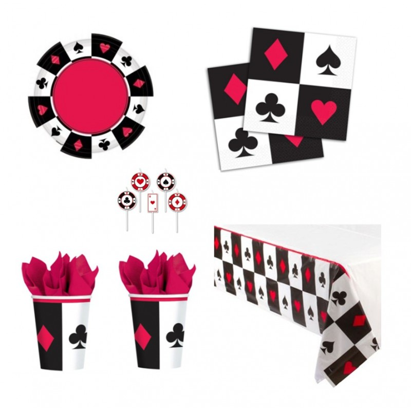 POKER NEW COORDINATO COMPLEANNO KIT N 24