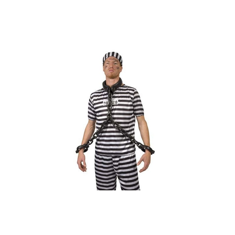 manette catena prigioniero
