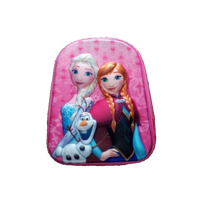 nuovo prodotto ce68b 2c520 Zainetto Frozen 3D con sagoma in rilievo versione 2019