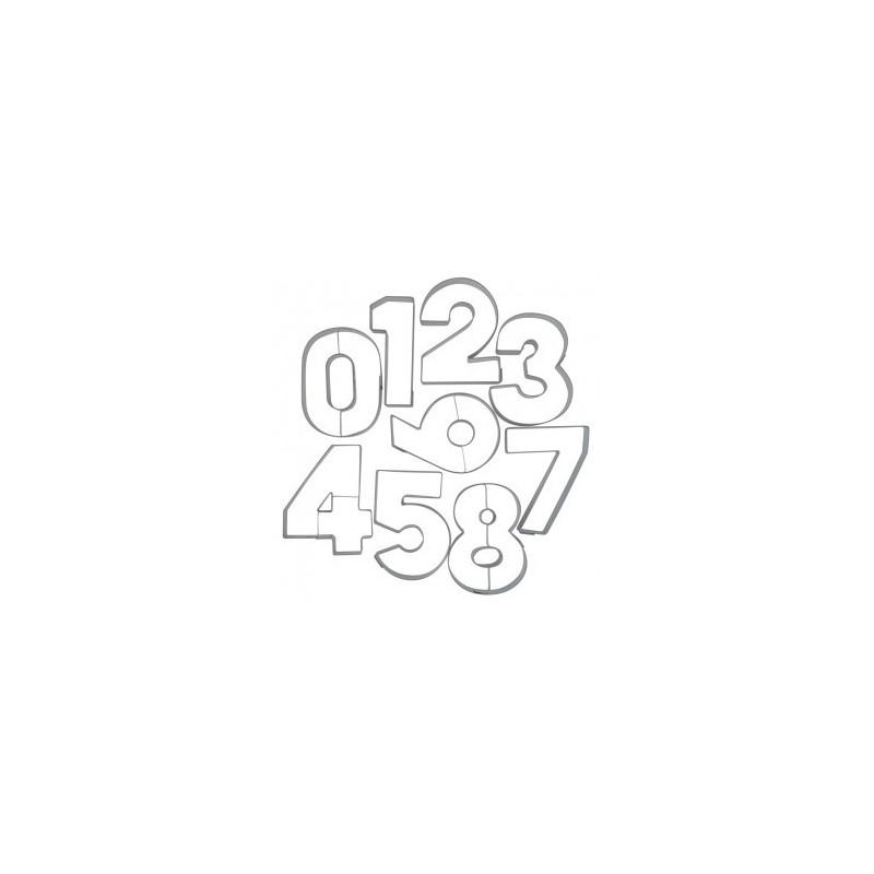 taglia pasta numeri metallo