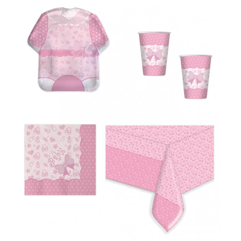 BABY GIRL NEW COORDINATO NASCITA KIT N 3