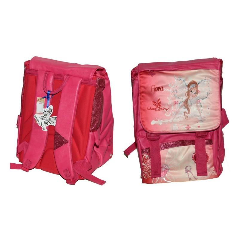 salvare 6e378 e9091 zaino per la scuola estensibile winx flora fairy