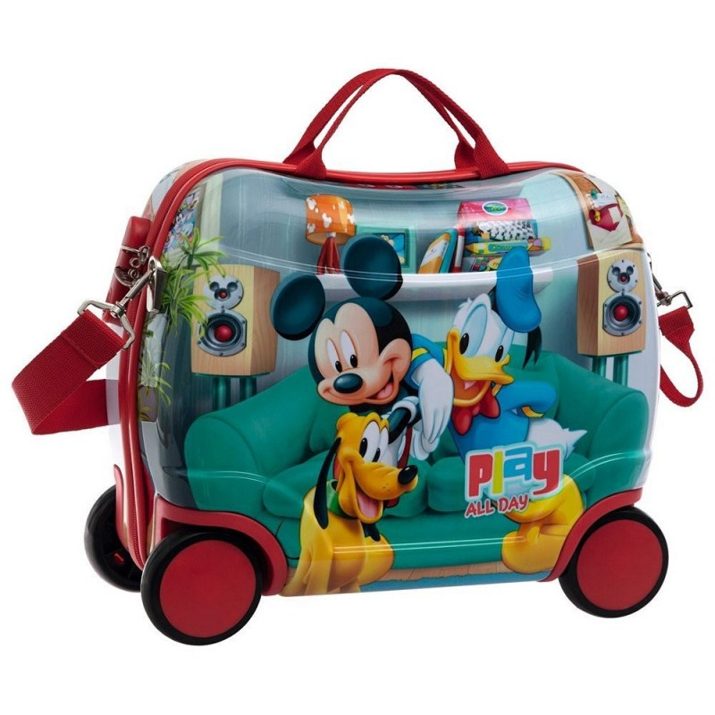 VALIGIA TROLLEY CAVALCABILE TOPOLINO MICKEY MOUSE 4521051