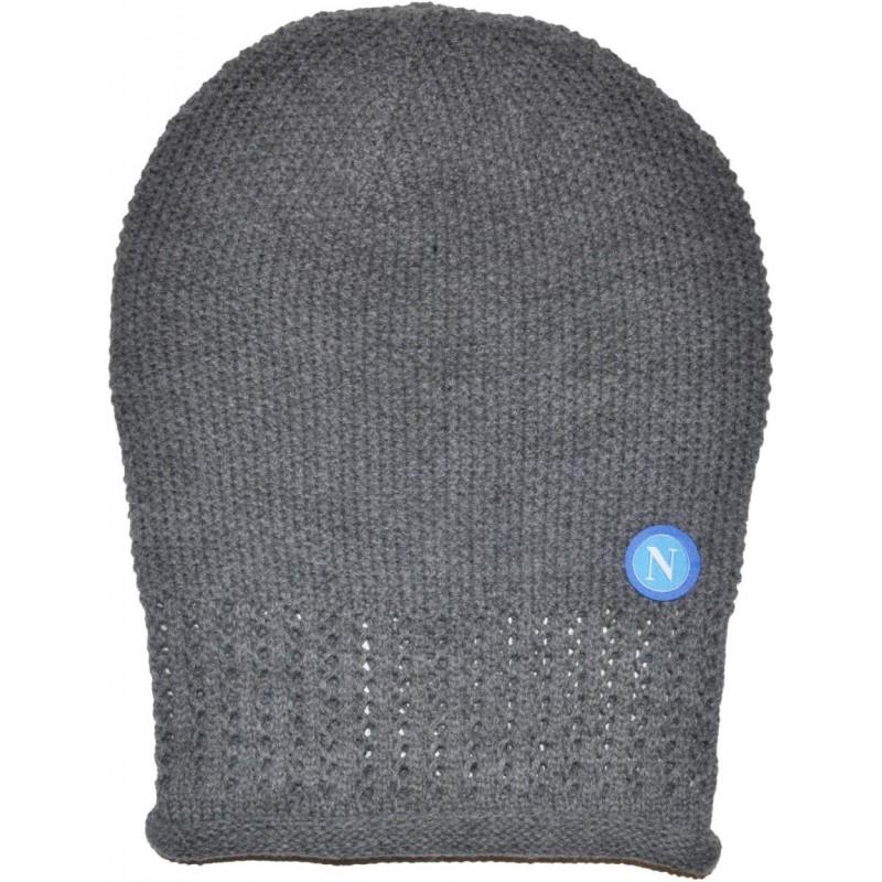 cappello napoli rasta grigio