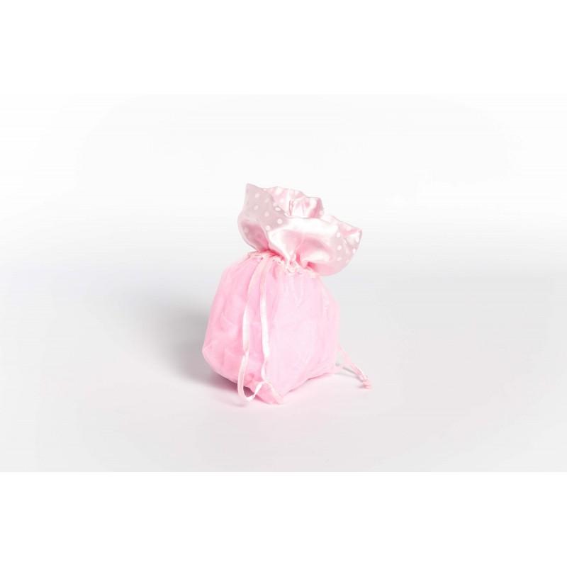 sacchetti organza rosa