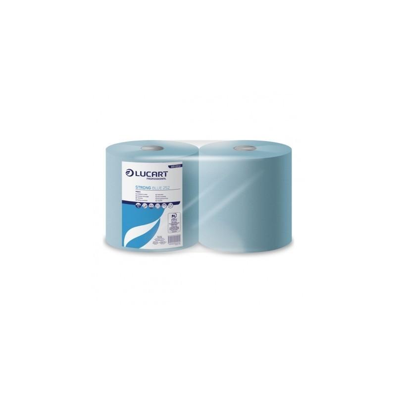 CARTA ASCIUGAMANI STRONG 252 BLUE LUCART 851202