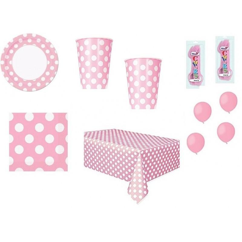 kit tavola pois rosa