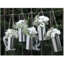 lattine porta fiori auto sposi