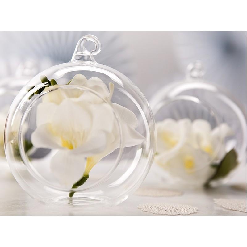 pallina vetro decorativa