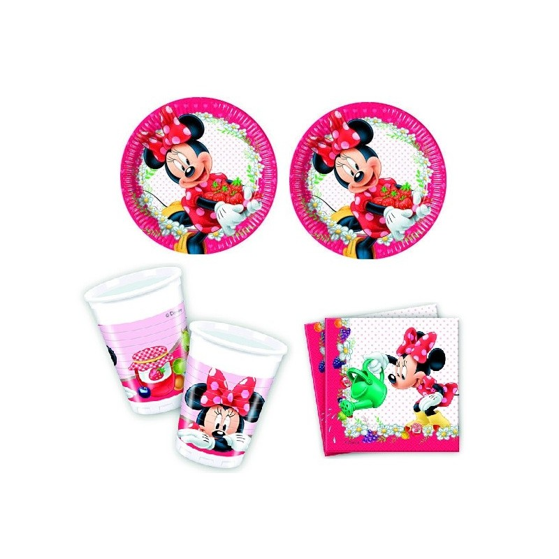 KIT N 2 COMPLEANNO MINNIE DOTS