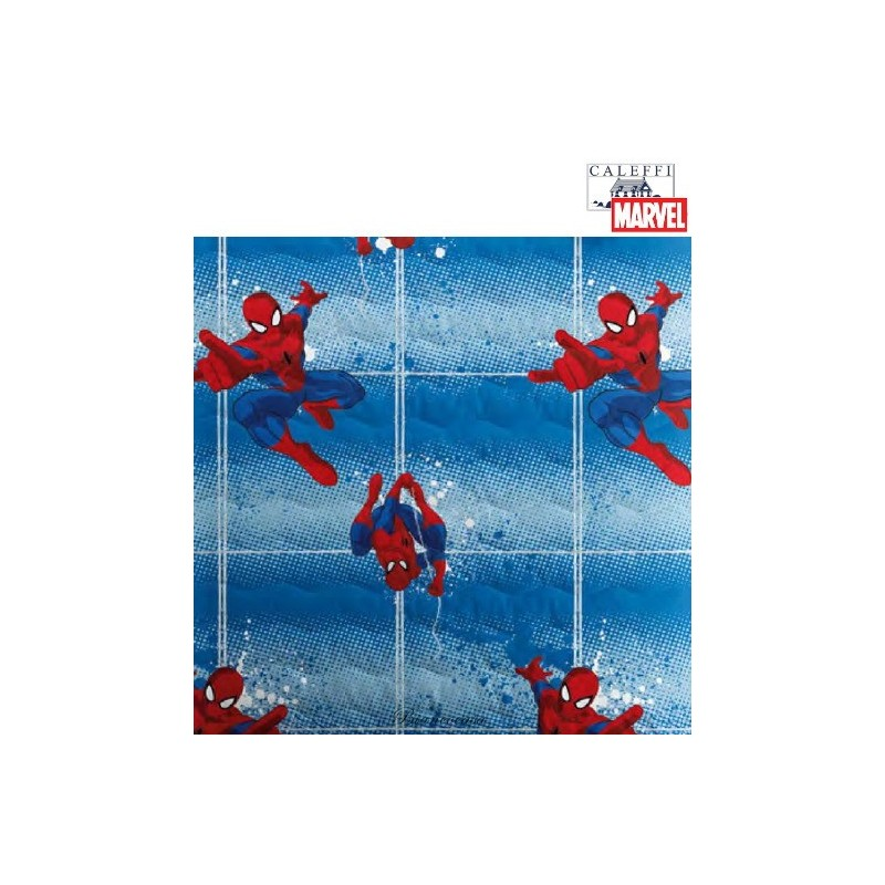 COPRILETTO TRAPUNTATO SPIDERMAN POWER 63869 LETTO SINGOLO