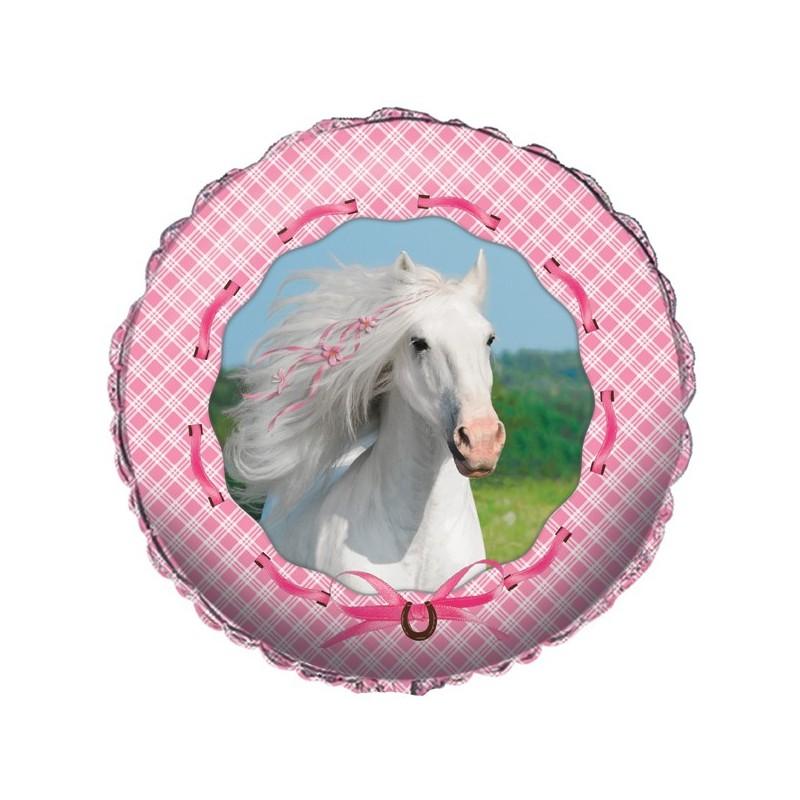 PALLONCINO FOIL HEART MY HORSE CAVALLI ROSA 045601