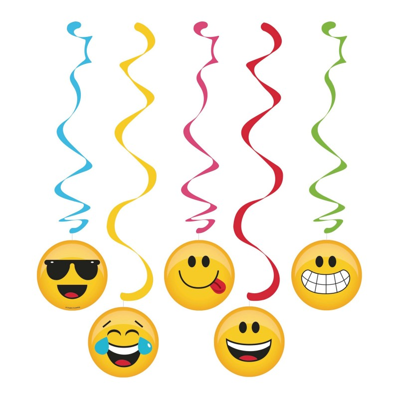 FESTONE PENDENTE EMOTICON SMILE NEW 322185