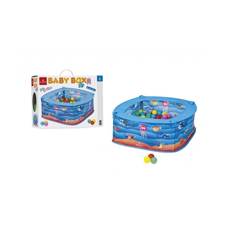 BABY BOX PESCIOLINI 053850 GIOCO PER BAMBINI CON PALLINE COLORATE