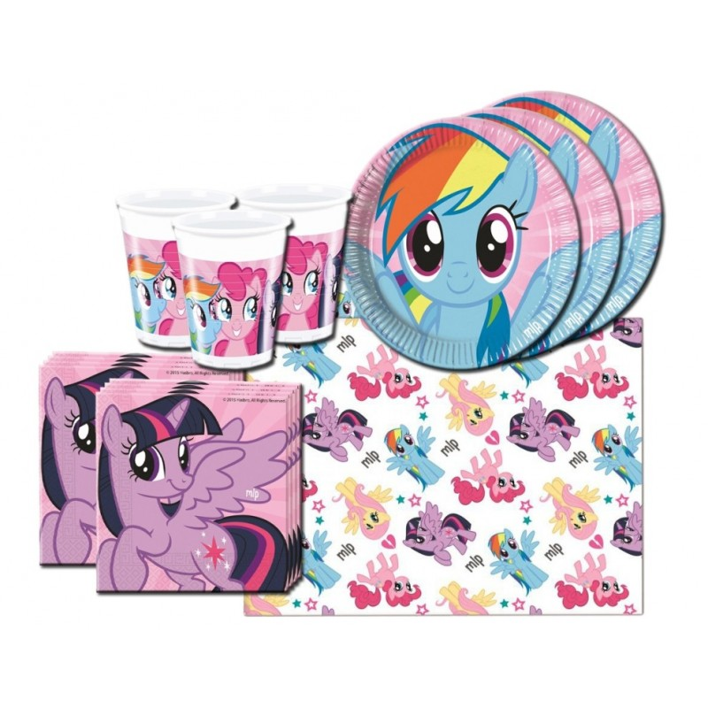 MY LITTLE PONY RAINBOW COORDINATO TAVOLA KIT N 3