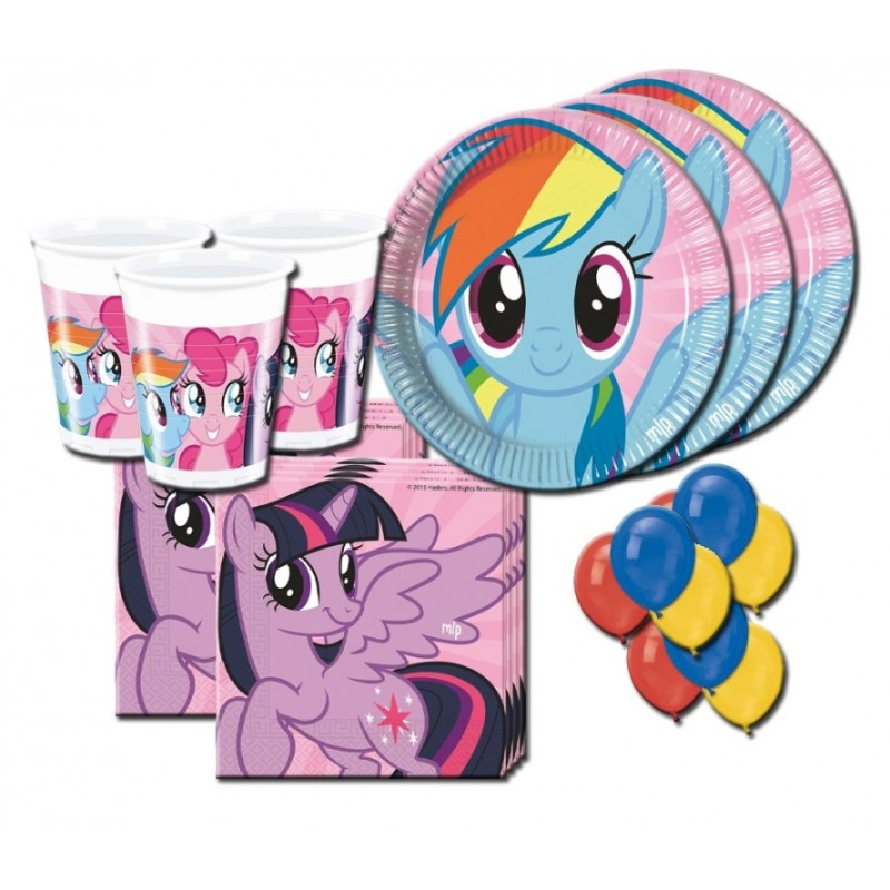 COORDINATO TAVOLA MY LITTLE PONY RAINBOW KIT N 22