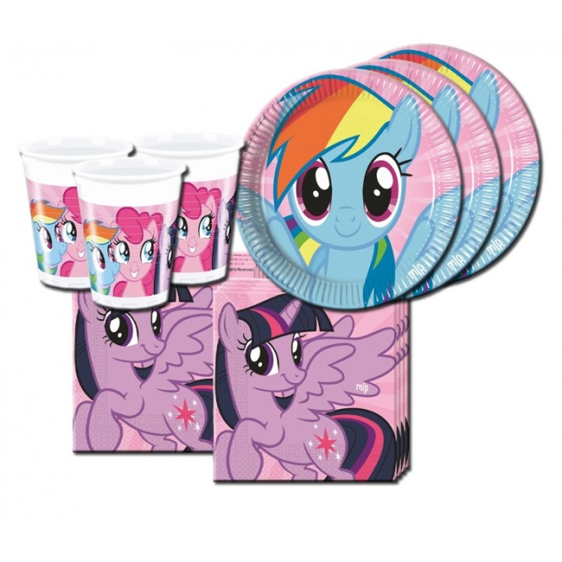 MY LITTLE PONY RAINBOW COORDINATO TAVOLA KIT N 29