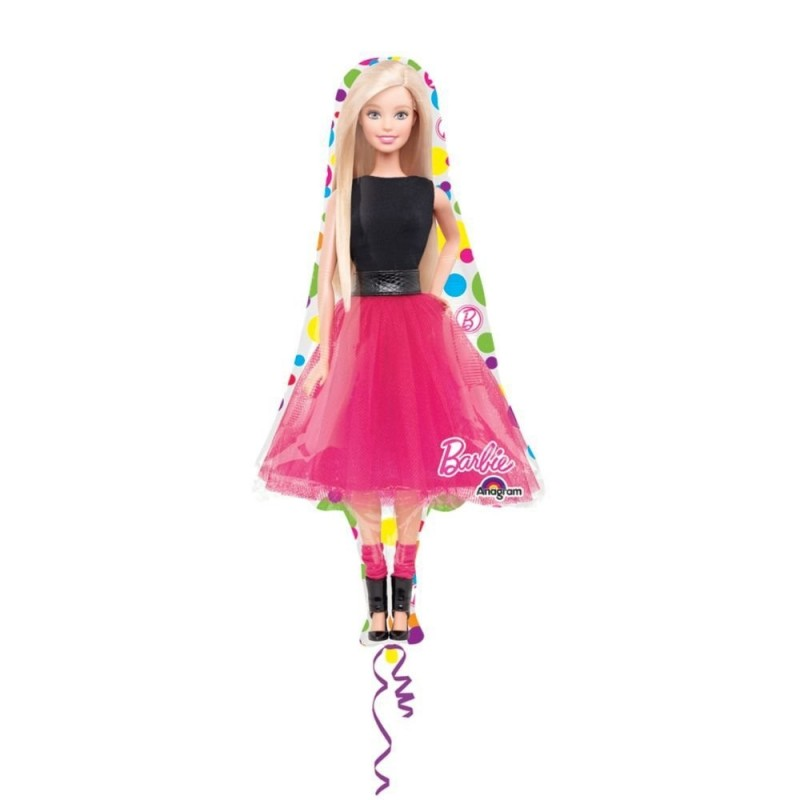 PALLONCINO FOIL SUPERSHAPE BARBIE 3065501