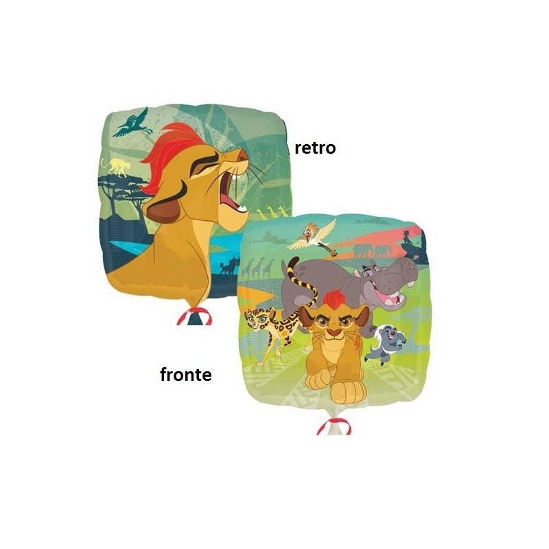 PALLONCINO FOIL THE LION GUARD - IL RITORNO DEL RUGGITO 34089