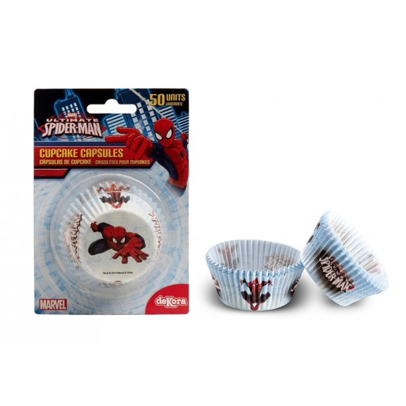 PIROTTINI CUPCAKE/MUFFIN SPIDERMAN 50 PZ 339008