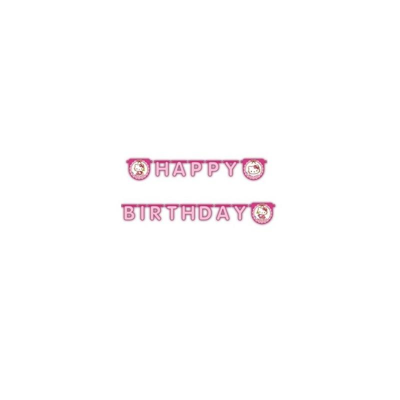 GHIRLANDA FESTONE HELLO KITTY HAPPY BIRTHDAY 81799