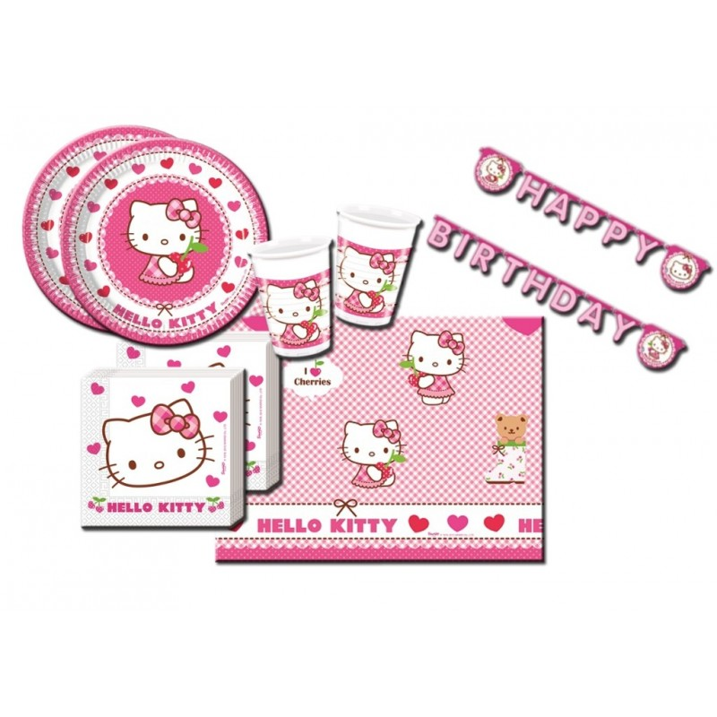 COORDINATO HELLO KITTY HEARTS KIT N 13