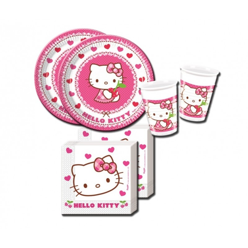 HELLO KITTY HEARTS COORDINATO TAVOLA KIT N 29
