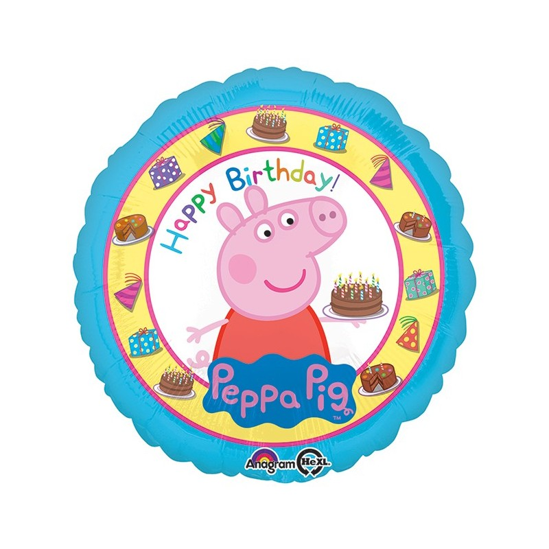 PALLONCINO FOIL PEPPA PIG 31592