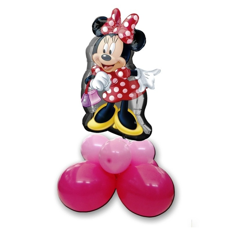 CENTROTAVOLA PALLONCINI MINNIE MOUSE TOPOLINA SUPERSHAPE