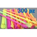 SET 300 PZ CANNUCCE COLORATE CON PALETTA
