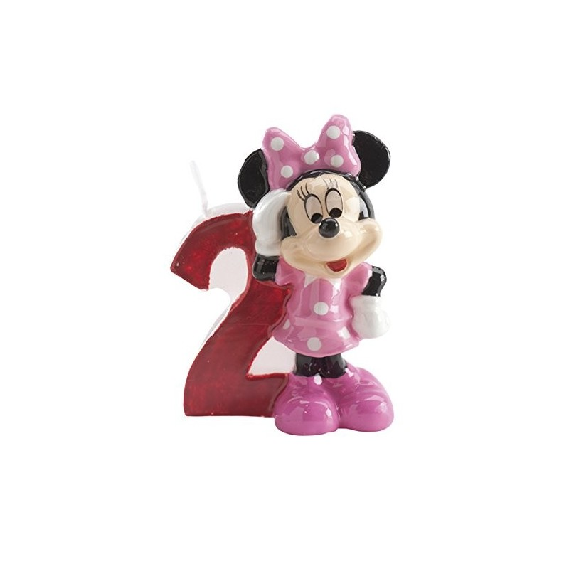 CANDELINA COMPLEANNO MINNIE TPOLINA N 2 346148