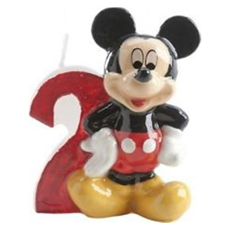 CANDELINA COMPLEANNO N2 TOPOLINO MICKEY MOUSE 346142