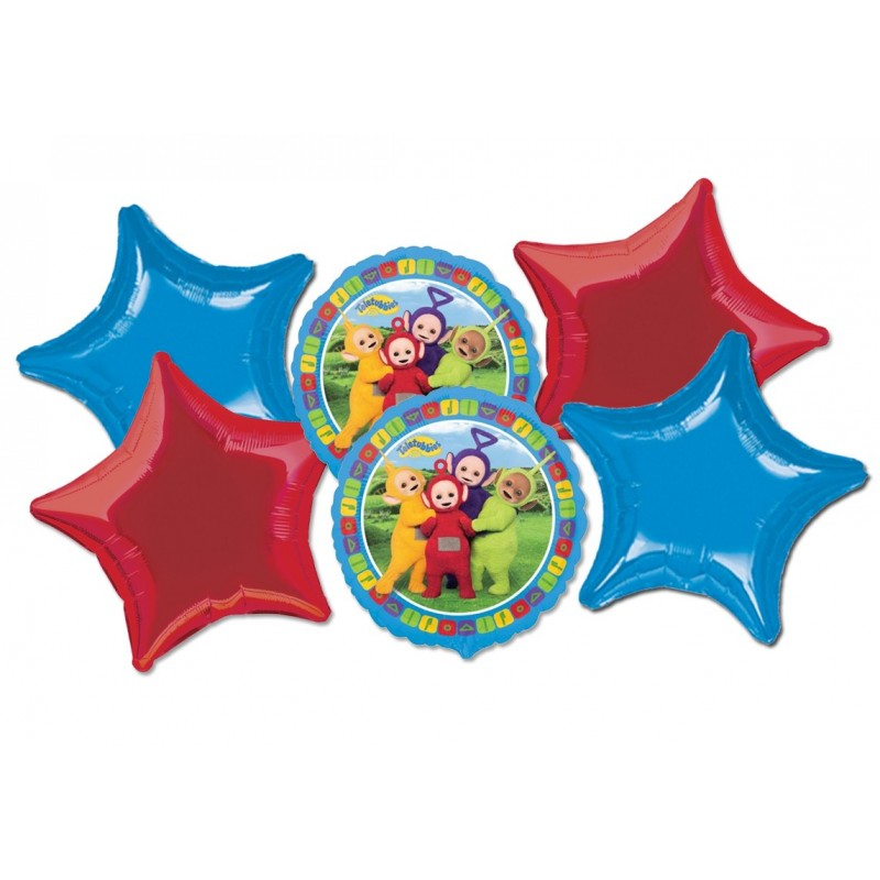 BOUQUET PALLONCINI FOIL TELETUBBIES N 7