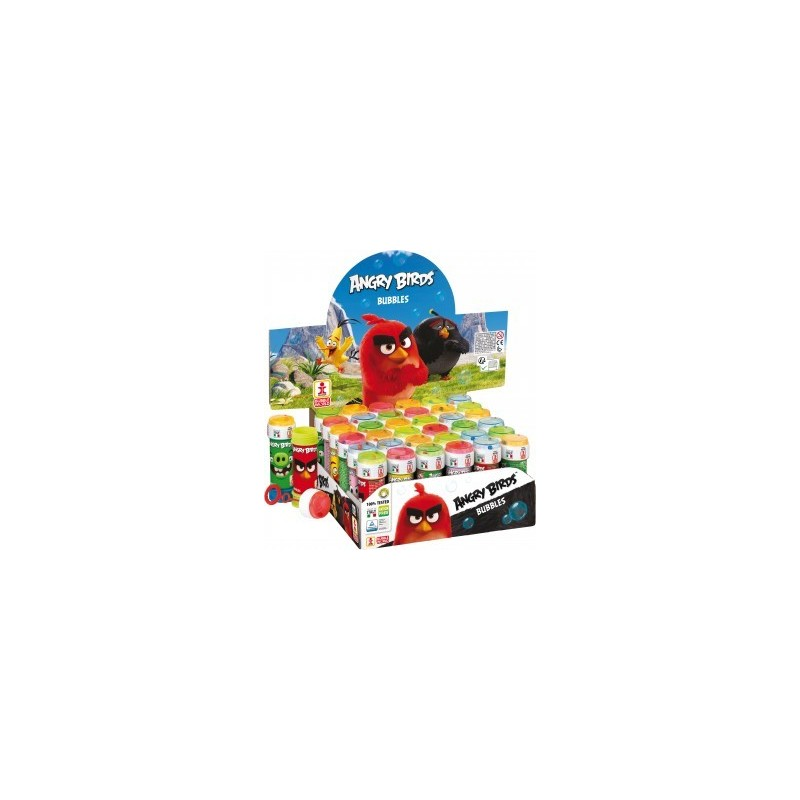 BOLLE DI SAPONE ANGRY BIRDS 18 PZ