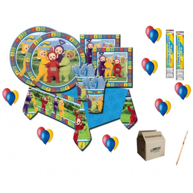 KIT COMPLEANNO teletubbies