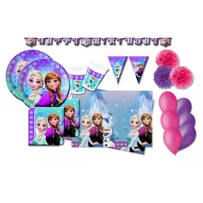 KIT N 46 - FROZEN NORTHEN ADDOBBI COMPLEANNO