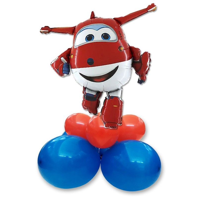 CENTROTAVOLA PALLONCINI SUPER WINGS JET SUPERSHAPE