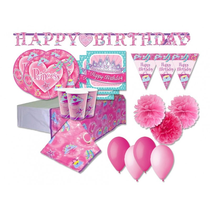 KIT N 46 - ADDOBBI COMPLEANNO FASHION PRINCESS