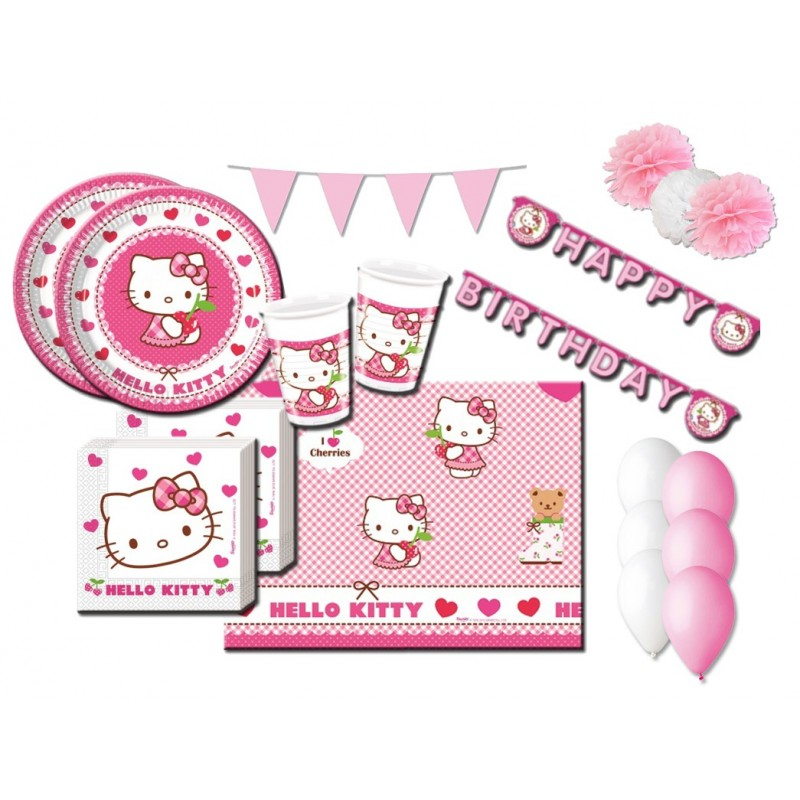 KIT N 46 - FESTA COMPLEANNO HELLO KITTY
