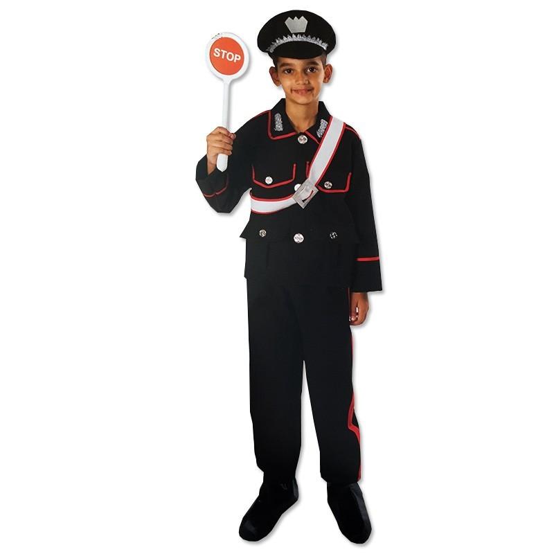 Vestito Carabiniere Bambino.Vestito Carnevale Bambino Carabiniere