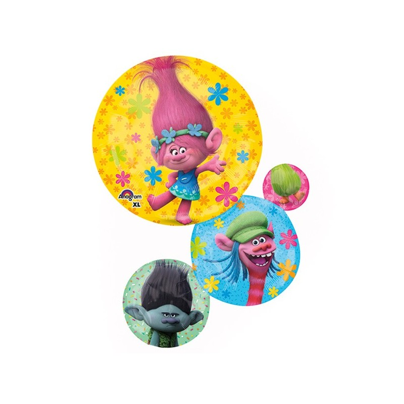 FOIL SUPERSHAPE TROLLS 33952